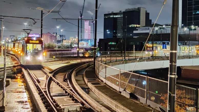 Manchester's new Trafford Park line